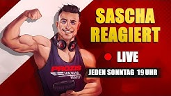 SASCHA REAGIERT  🔴 LIVE