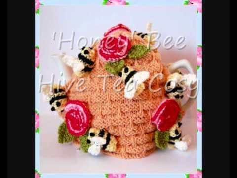 Honey Bee Hive Pot Tea Cosy DK Knitting Pattern - YouTube