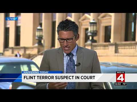 Flint terror suspect in court