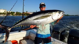 Personal Best GIANT Tuna- Catch Clean Cook- (Bahamas Yellowfin Tuna Fishing)