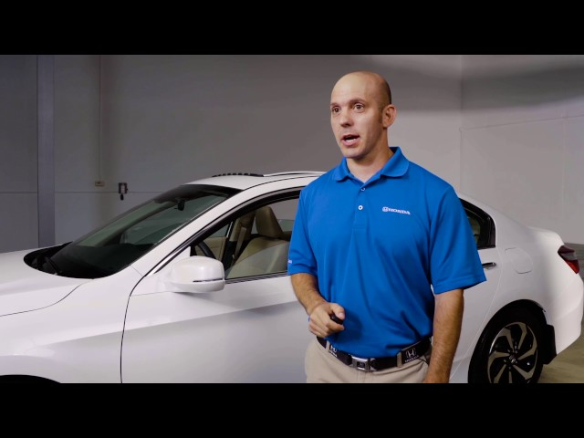2017 Honda Accord Tips & Tricks: Smart Key