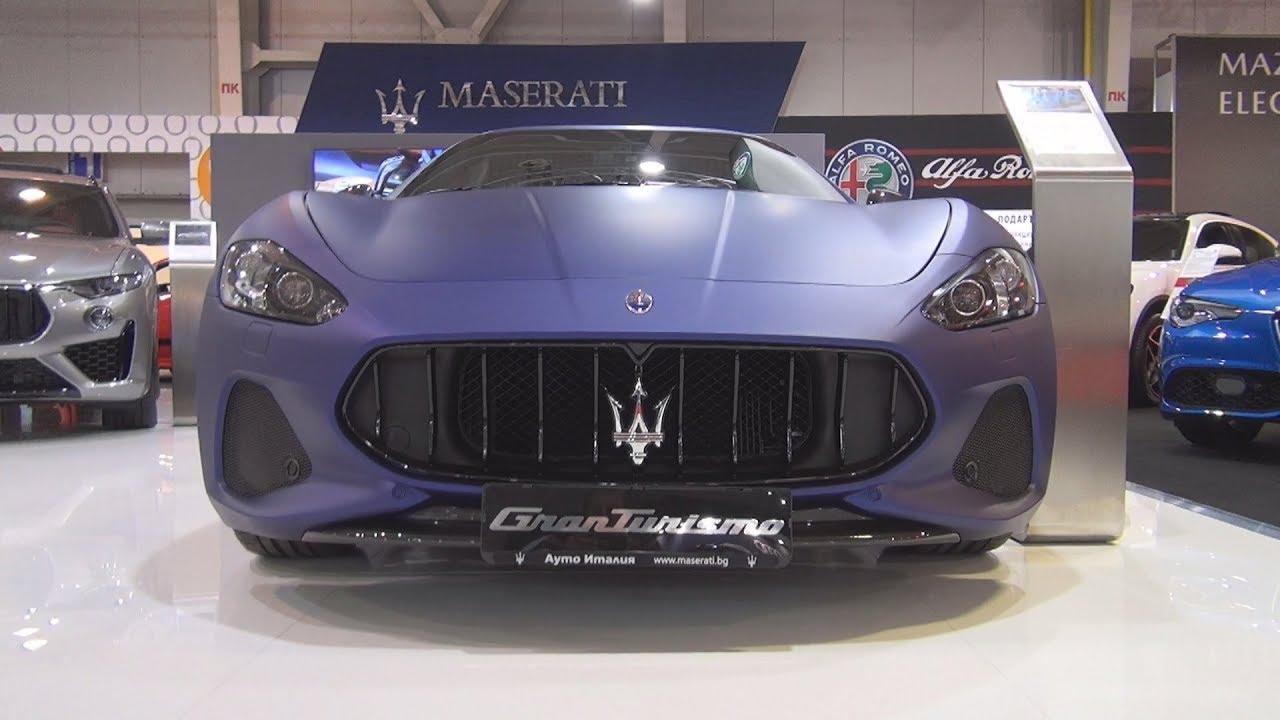 2020 Maserati Granturismo History