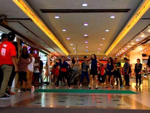 Flash mob at Sungei Wang Plaza