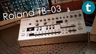 First Look at the  Roland TB-03 Bass-Line