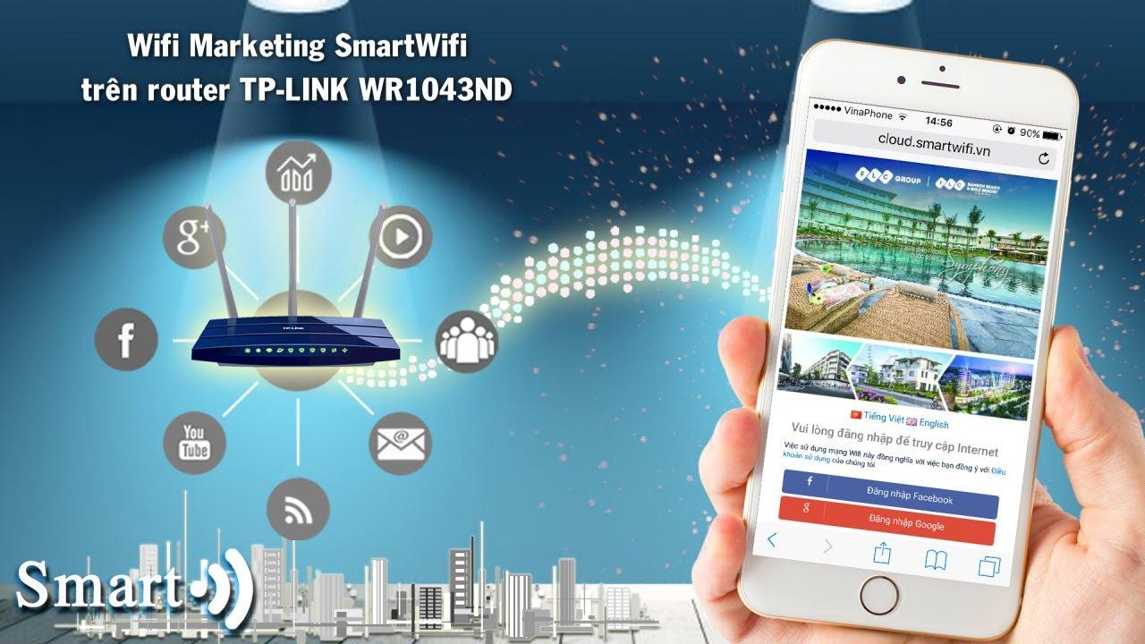 Wifi Marketing Smartwifi trên router TP-Link TL-WR1043ND
