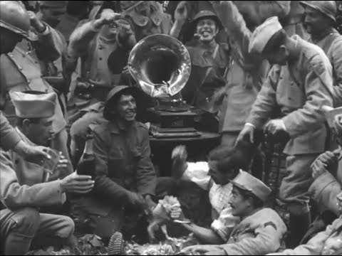 1918 U.S. Army WWI Silent Films from France - Reel America Preview