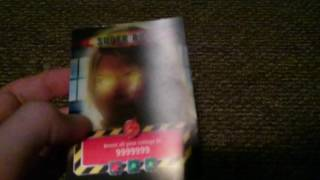 DOCTOR WHO BATTLES IN TIME SUPER ROSE EXTREMELY RARE 1 IN 1000 PACKS!!!