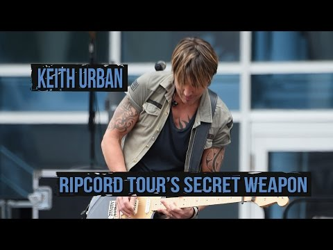 "Keith Urban Reveals ""The Phantom,"" 'Ripcord' Tour's Secret Weapon"