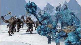 Тролли Норски VS Ужасы из склепа | Тесты Total War: Warhammer