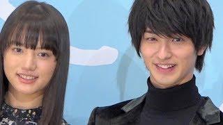 映画『愛唄 -約束のナクヒト-』完成披露舞台挨拶が2018年12月10日に行わ...