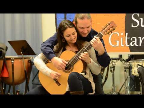 Rondo Alla Turca - Marco Tamayo & Anabel Montesinos (4 hand guitar)