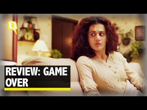 Review of 'Game Over' starring Taapsee Pannu.