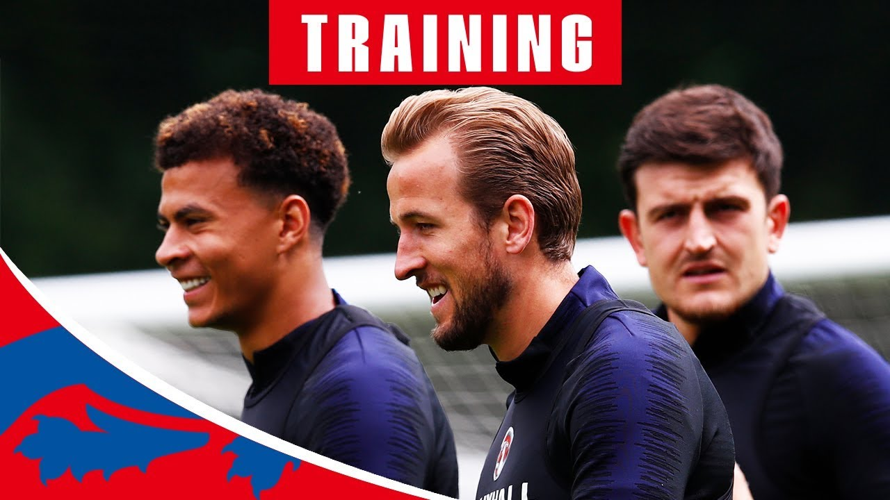 England v Nigeria | Live Training Session | World Cup 2018