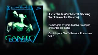 A vucchella (Orchestral Backing Track Karaoke Version)