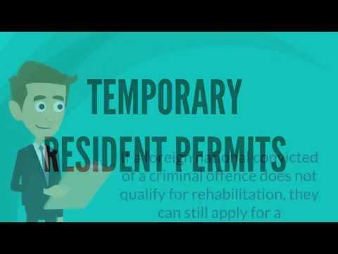 Temporary Resident Permits - Matthew Jeffery, Toronto Immigration Lawyer
