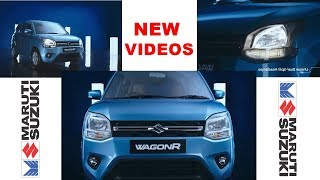New Wagon R 2019 in Latest official videos