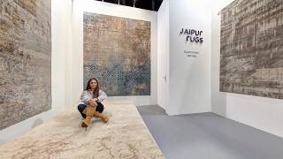 Launch of collection Tattvam, by gauri Khan for Jaipur Rugs at Maison & Object, Paris, 2018