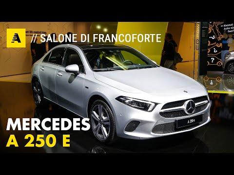 Mercedes Classe A e Classe B 250e   Prova test ibride plug-in a Francoforte