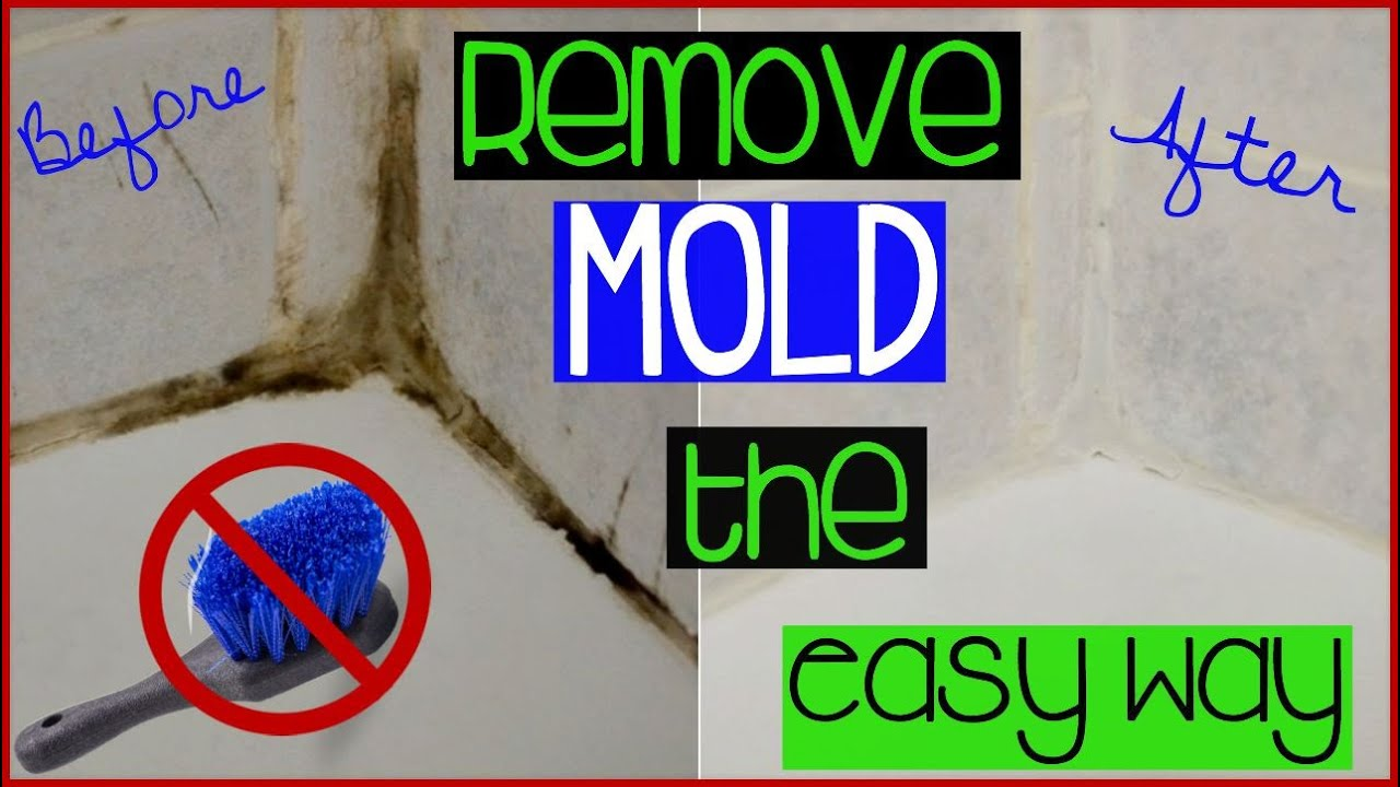 Cleaning Mold In Shower Naturally clean shower/bathroom grout without scrubbing | the lazy way to