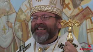 Глава Украинской греко-католической церкви провел службу в Минске