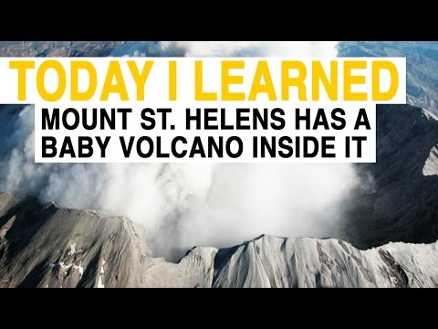 TIL: Mount St. Helens Has a Baby Volcano Inside It | Today I Learned