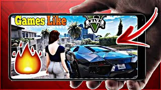 TOP 4 GAMES LIKE GTA 5|| FOR ANDROID|| BEST HIGH GRAPHICS GAMES 2019||
