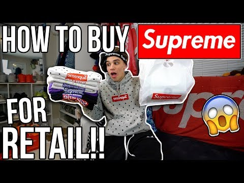 HOW TO BUY SUPREME FOR RETAIL!! (99.99% WORKS EVERYTIME)