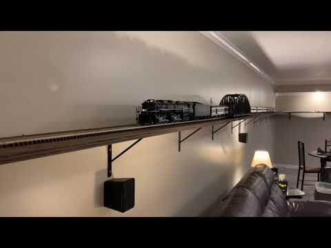 O Scale Shelf Layout Update Video 9