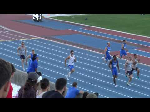 Dusty 200m final @ Mountain West Conference Championship