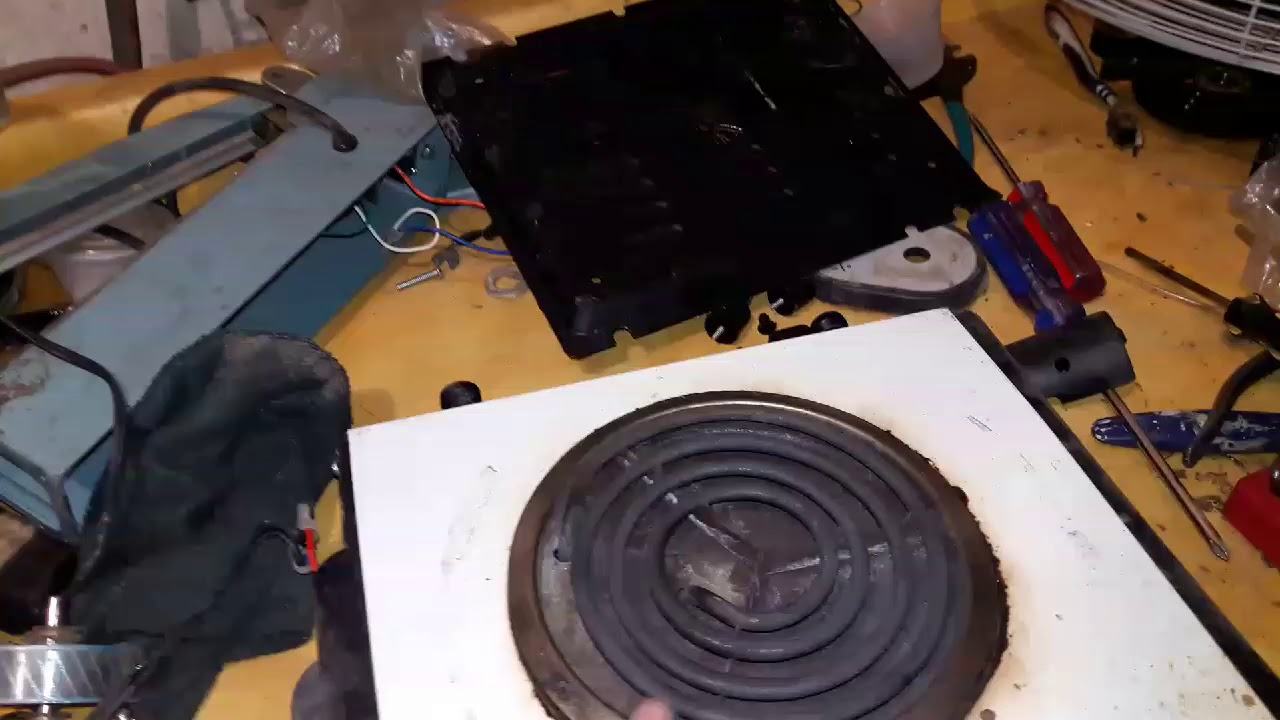Parrilla Electrica No Calienta Youtube