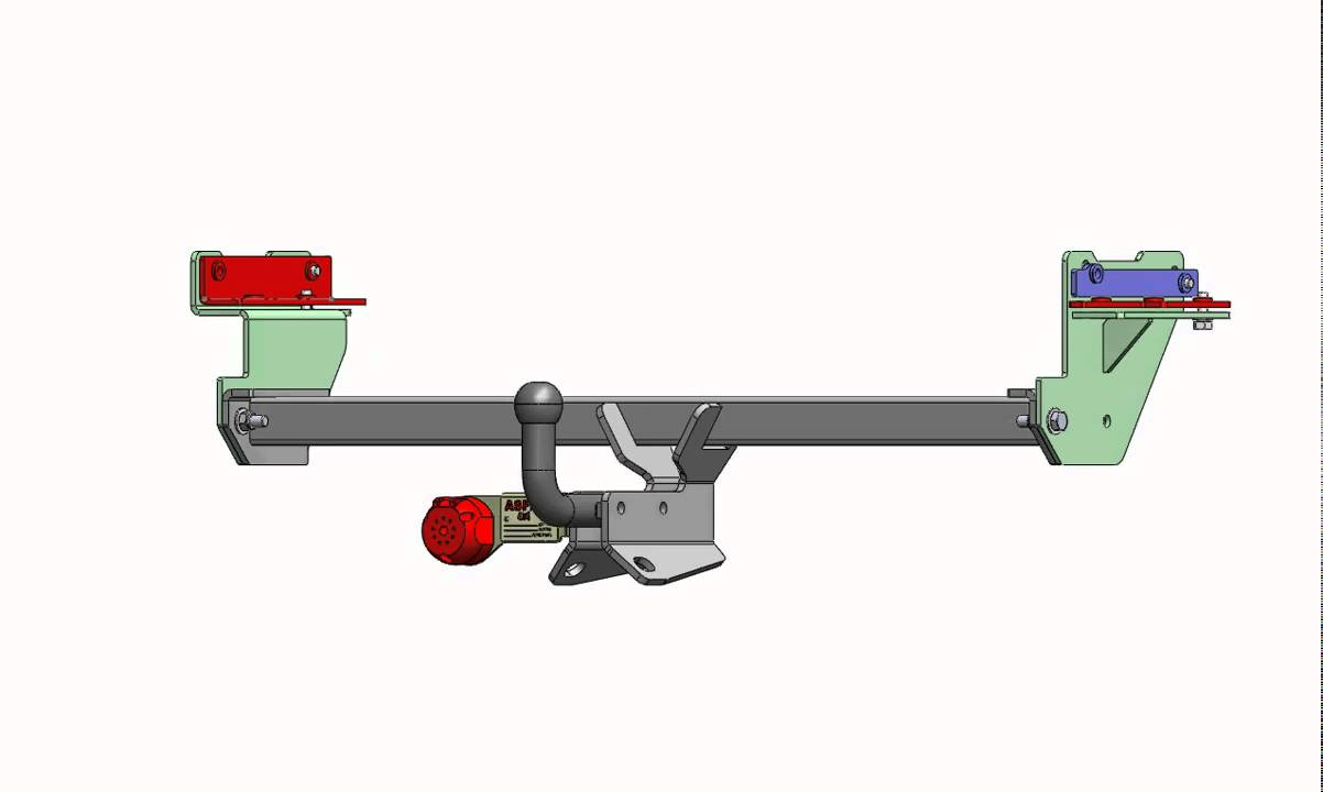 medium resolution of nissan qashqai permanent tow bar 596044