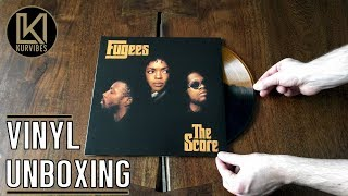 Fugees – The Score Vinyl Unboxing   KurVibes