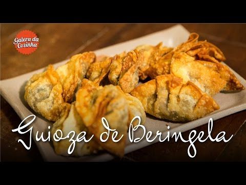Guioza de beringela (Vegan) - Galera da Cozinha [2ª Temporada]