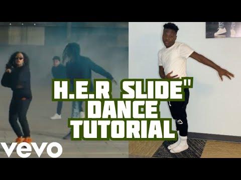 """HOW TO DO: H.E.R. - Slide  """"DANCE TUTORIAL"""""""