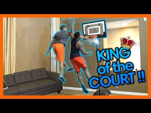 2HYPE MINI NBA BASKETBALL KING OF THE COURT !!