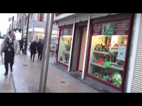 Dublin city ​​center, sights, bars, shopping center, centrum miasta i handlowe, zabytki, knajpy,