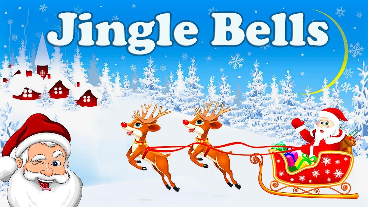 Jingle bells (LYRICS) - Christmas song 🎄🎅🦌 ️☃️🔔 - YouTube