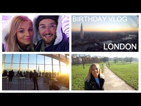 BDAY IN LONDON | Camden, Primrose Hill, Sky Gardens & The Ice Bar! | VLOG
