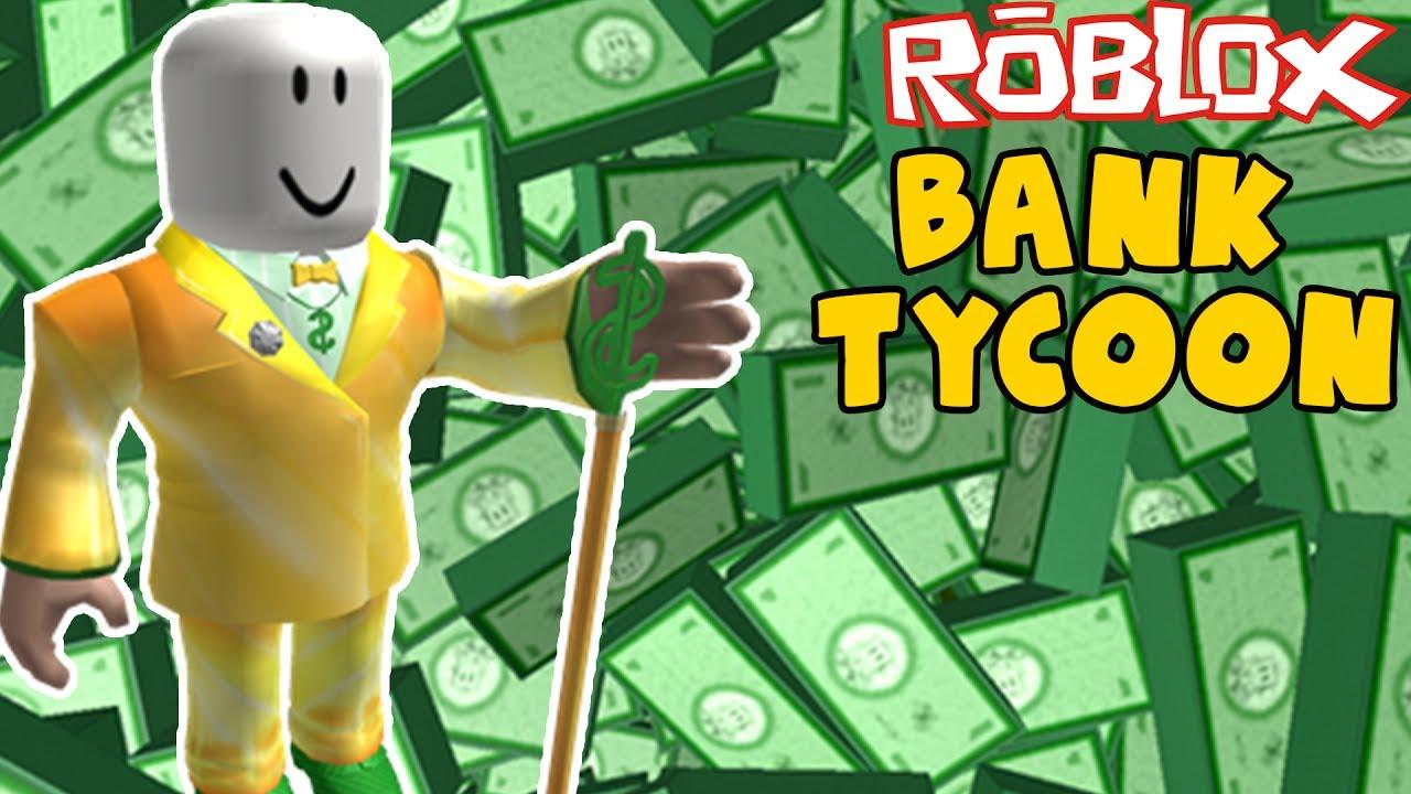MÓJ WŁASNY BANK! | Bank Tycoon | ROBLOX #167