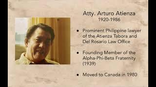 Arturo Atienza. Paglalayag: the Philippines to Canada Journey. Teaser - 5