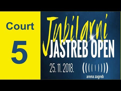 20th JASTREB OPEN - CUP OF THE AMBASSADOR OF THE REPUBLIC OF KOREA - COURT 5