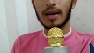 Hua hai aaj pehli baar..sing with karaoke mic