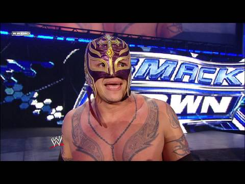 World Heavyweight Champion Undertaker vs. Rey Mysterio