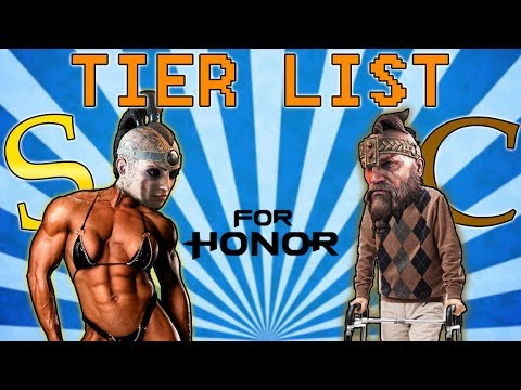 [For Honor] Mege's TIER LIST for 1v1