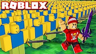 STRENGTHENING MY NOOB ARMY at ROBLOX → Army Control Simulator 🎮
