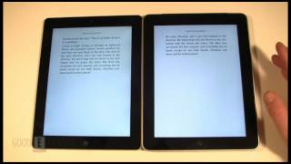 iPad 1 and iPad 3 e-Book Reading Comparison