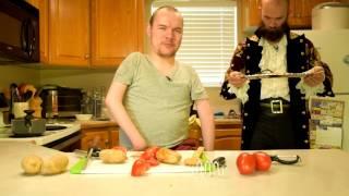 Scottish Living - Potato-stuffed Tomatoes