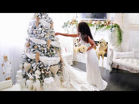 Fairy Tale Christmas Romantic Christmas decorating Ideas 2018 Decorate My Tree DIY Gold Decorations