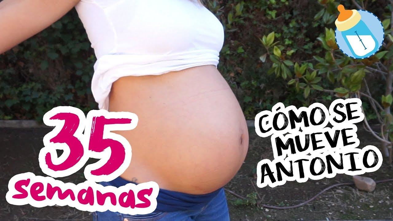 Semana 40 de embarazo el bebe se mueve mucho