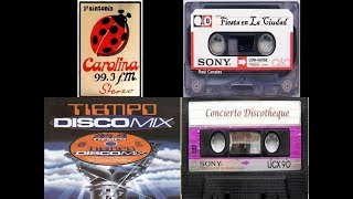 Mix 80S Estilo Carolina Discoteque, Fiesta En La Ciudad, Concierto Discoteque y Tiempo Dis ...